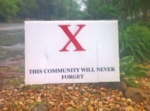 x_yard_sign