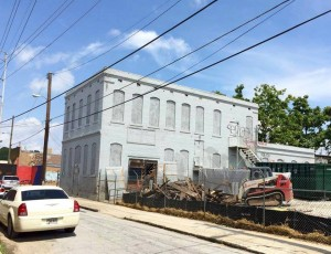 City has given demolition permit for historic building in the owned by the Atlanta Housing Authority in the King Landmark District (Photo: Terry Kearns)