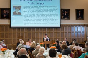 For her work supporting journalists, Griggs received the 2014 Columbia Theological Seminary Pioneering Ministry Award. She is a 2002 graduate of the seminary, located in Decatur.