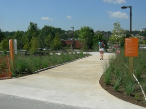 The entrance to the Gateway connector from the BeltLine