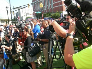 The opening attracts wide media coverage