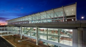 First and last impressions are to be enhanced by the shimmering appearance of the car rental facility at Atlanta's airport. Credit: pgal.com