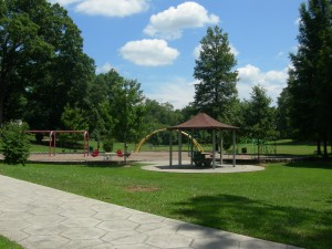 A view of Adair Park's playground