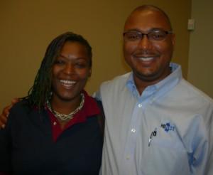 Kamara Johnson and Johnny Hughes