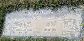 Archie Langdon gravestone