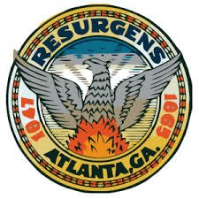 The Atlanta seal depicts the resurgens, or rebirth, dream.