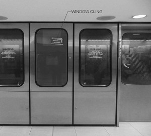 Advertisers could reach passengers as they use the airport's automated people mover system. Credit: City of Atlanta