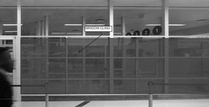 Large display advertising could festoon windows inside the terminal and on automated people movers, under a proposed advertising contract for Atlanta's airport. Credit: City of Atlanta