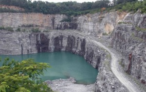 The BeltLine acquired the former Bellwood Quarry in Atlanta's westside for $34.2 million, but has not devised development plans or funding. Credit: georgia.sierraclub.org