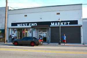 A retail strip of mom and pop shops, located on Ralph David Abernathy Boulevard across from Mall West End, is a popular destination. Credit: Donita Pendered
