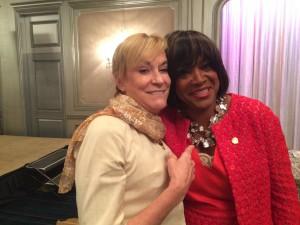 Hala Moddelmog with Valerie Montgomery Rice
