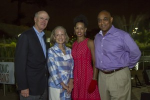 Left to right: Frank and Liz Blake, Lovette and Michael Russell (Special: Park Pride)