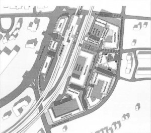 MARTA has provided this conceptual plan of the redevelopment of its Brookhaven Station. Credit: itsmarta.com