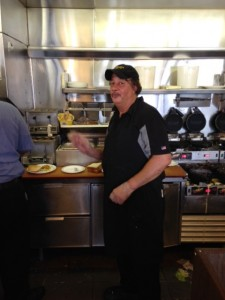 """""""Big Mike,"""" grill cook at Waffle House"""