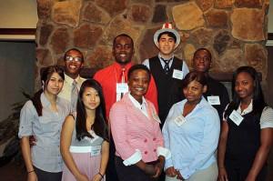 Model UN program participants from the Coastal YMCA in Savannah. Credit: State YMCA of Georgia