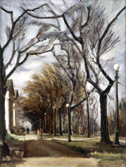 On the Campus (1939) by Lamar Dodd. Credit: Collection of C. L. Morehead Jr.