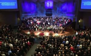 Truett Cathy Memorial Service (Photo by Maria Saporta)
