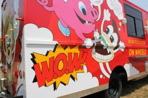 The truck was supposed to be named OMG, but that didn't work out, either. (Credit: Wow! Food Truck)