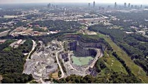 From humble beginnings in a planner's wish list, Bellwood Quarry has come to represent the vision of the transformative powers of Atlanta's BeltLine. Credit: TPL via Alex Garvin