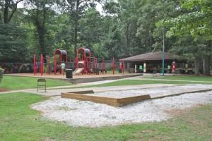 Brownwood Park provides this playground. Credit: jwrightstudio.com