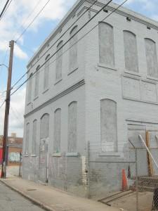 A photo of 20 Hilliard St. looking towards Edgewood Avenue (Photo by Maria Saporta)