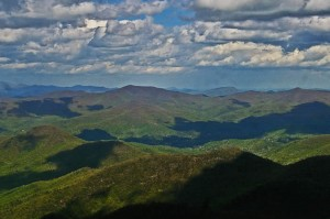 View from Brasstown Bald. Credit: Cradle of Forestry in America.org