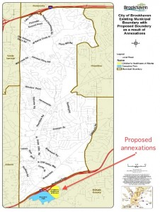 Two business districts have filed petitions to be annexed into Brookhaven, Executive Park and Children's Healthcare of Atlanta. Credit: brookhavenga.gov, David Pendered