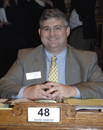 Sen. David Shafer introduced the measure to limit individual income taxes.