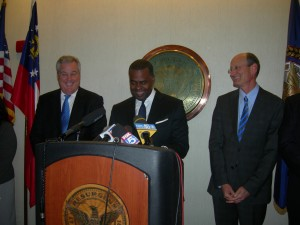 Atlanta Mayor Kasim Reed Press Conference