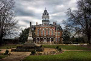 The Hancock County Courthouse in Sparta