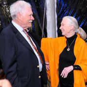 Ted Turner and Jane Goodall (Special: Captain Planet Foundation - John Amis)