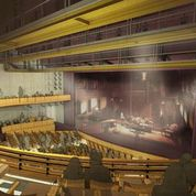 A conceptual rendering of the new Alliance Theatre (Special: TVSDesign)