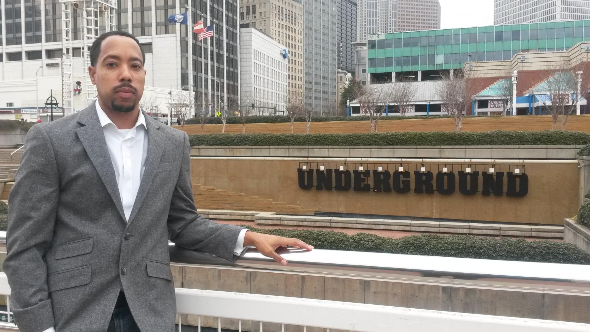 Darron Cooper at Underground Atlanta