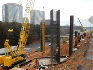 Columns, Northwest Corridor North of I-285
