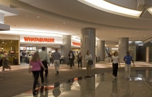 Houston tunnel, retail