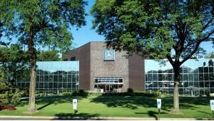 Mercedes-Benz headquarters in Montvale, N.J.
