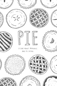 After blogging and Instagramming her pies, Vega marked the 50th and final pie with a printed zine. She sold all 50 copies on the Internet and gave the $800 profit to the Atlanta Community Food Bank.