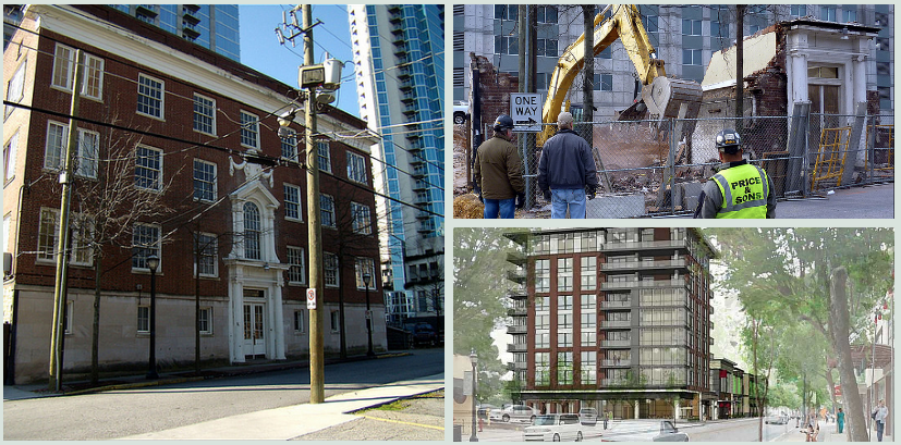 The McCord Apartment Building Before and After