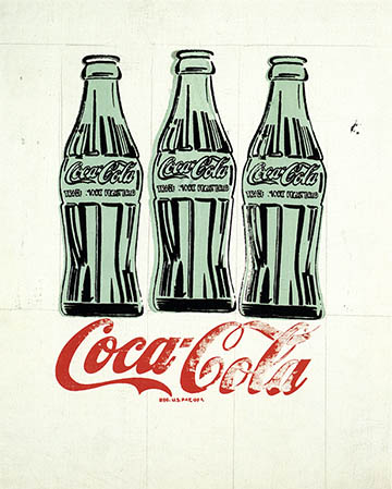 Three Coca-Cola Bottles