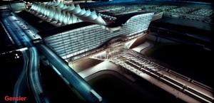Denver airport construction project