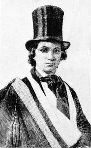 To escape slavery, light-skinned Ellen Craft disguised herself as a male slaveholder. Her husband, William, who was darker skinned, posed as her slave valet. They successfully traveled to the North, and eventually to England, where they published a narrative recounting their lives as slaves and their daring escape.
