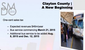MARTA Clayton service