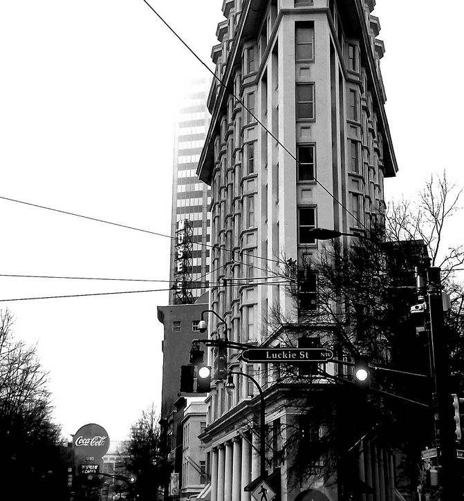 Flat Iron: Peachtree