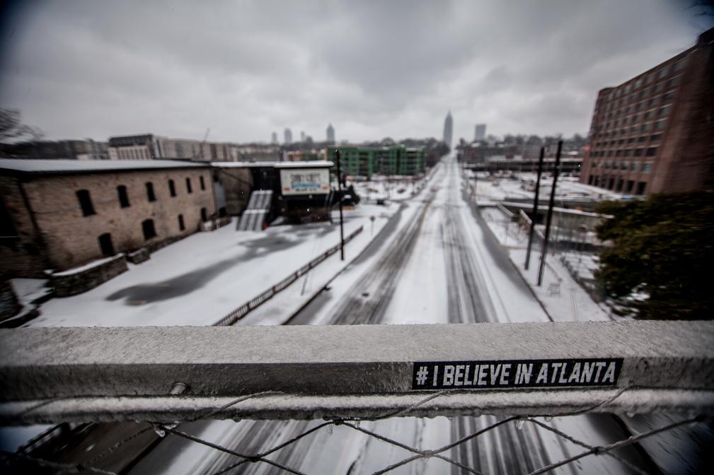 """""""I Believe in Atlanta"""" by TC Moore"""