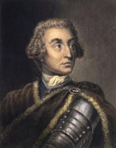 James Oglethorpe, founder of the Georgia colony