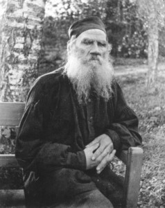 Leo Tolstoy, proponent of nonviolent resistance. Credit: Library of Congress