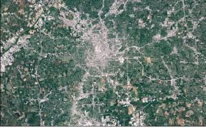 Atlanta's heat island
