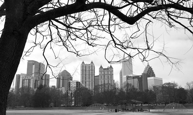 A nice winter shot of midtown by Lisa Panero