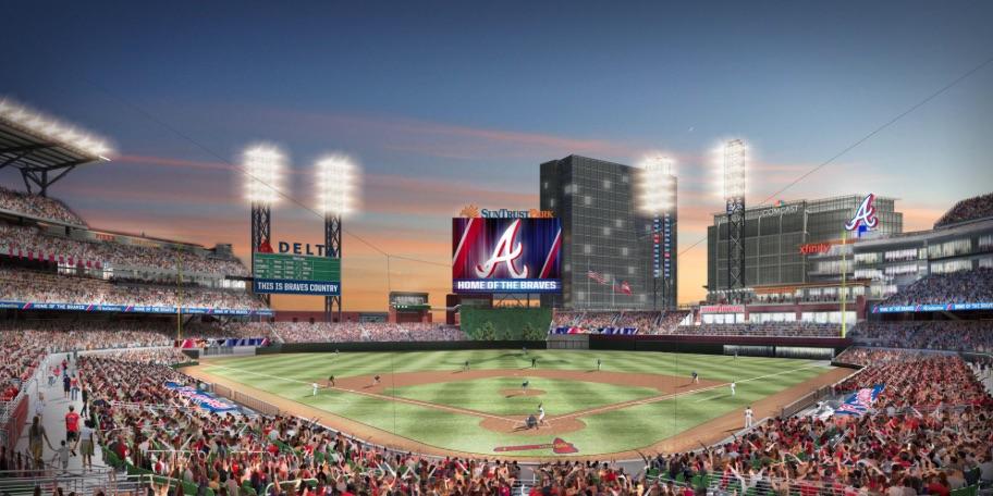 Braves stadium rendering