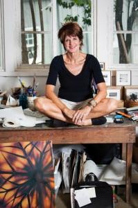Corinne Adams, creator of C Glass, is based in Buckhead.